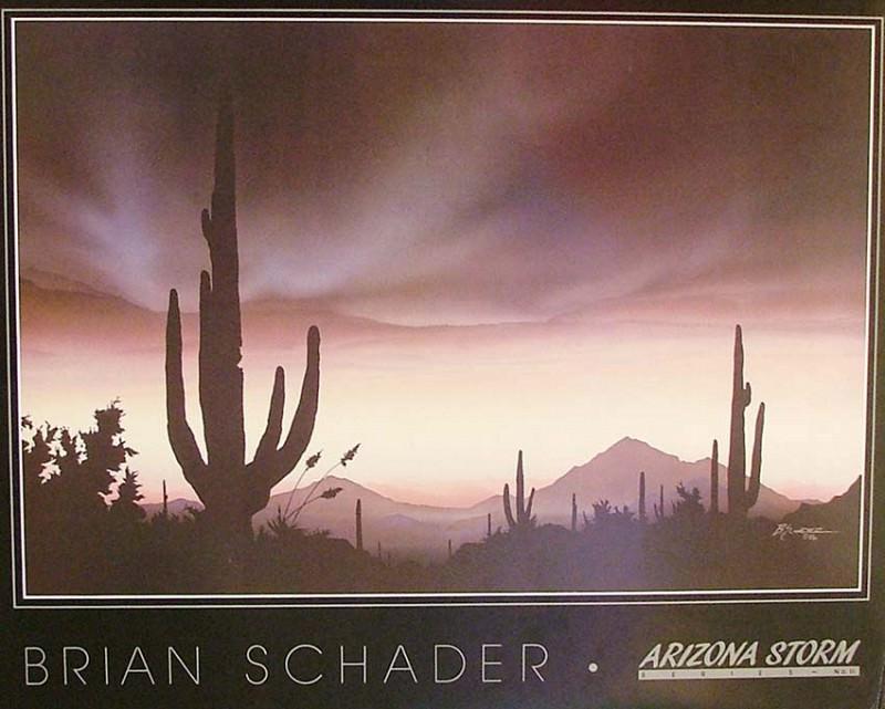 Брайен Шейдер - Буря в Аризоне. Хесус Хелгера Аусенсиа