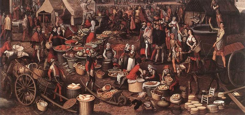 Market Scene 4. Pieter Aertsen (Lange Pier)