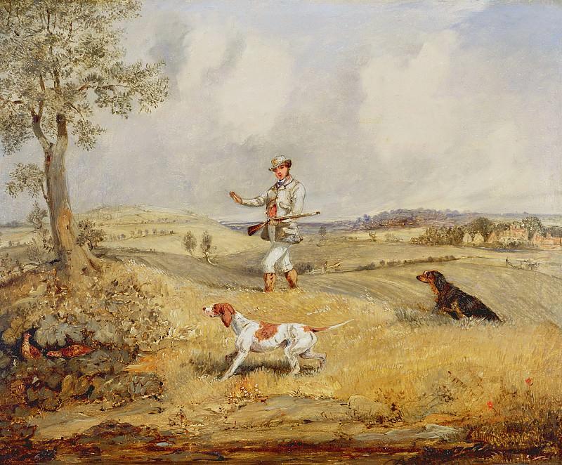 - Охота на куропаток. Генри Томас Алкен