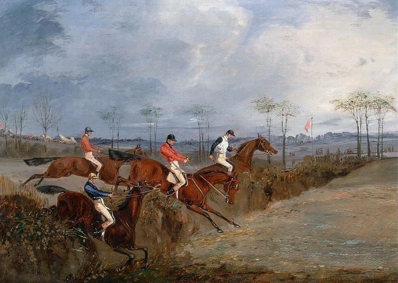 Стиплчез - преодоление препятствия и канавы. Генри Томас Алкен