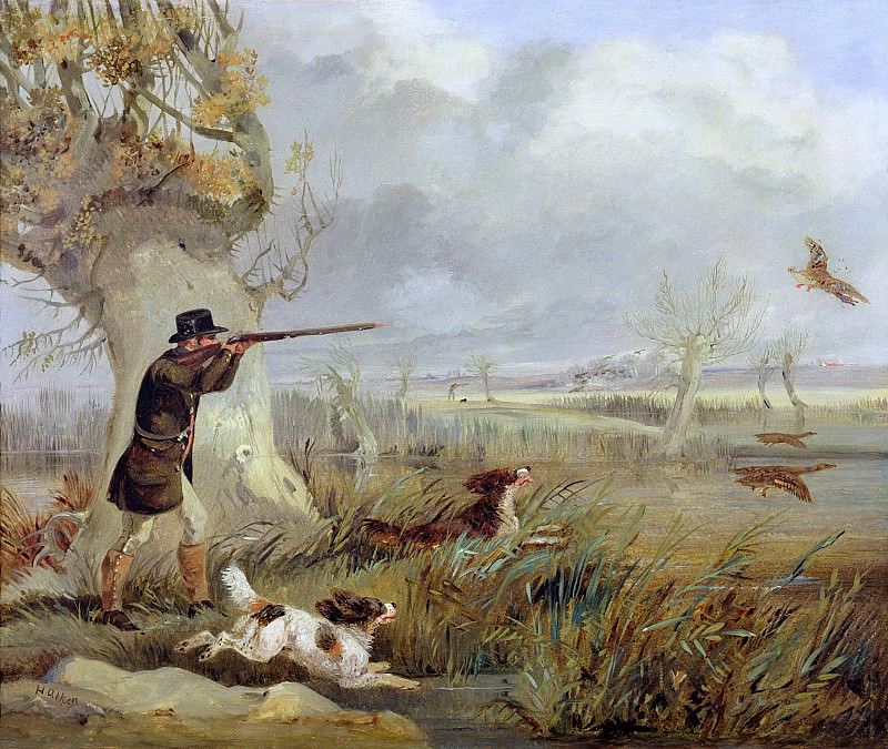 - Охота на уток. Генри Томас Алкен