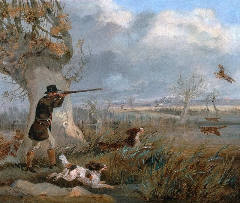 Утиная охота. Генри Томас Алкен