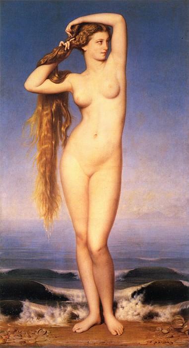 Amaury Duval La Naissance de Venus. Eugene-Emmanuel Amaury-Duval