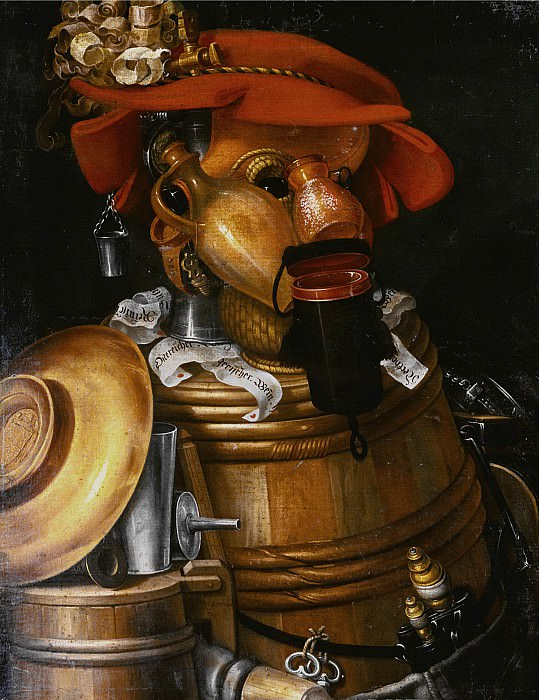The Waiter. Giuseppe Arcimboldo
