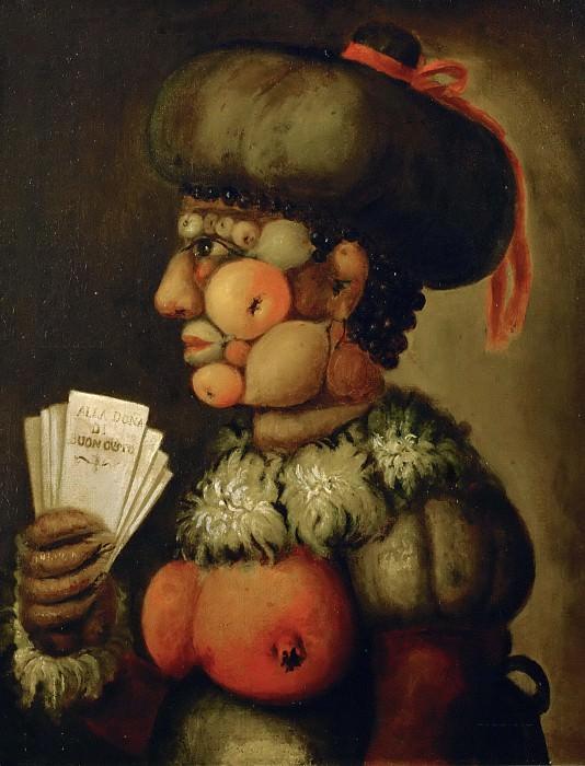 Alla Donna di Buon Gusto (Imitator). Giuseppe Arcimboldo