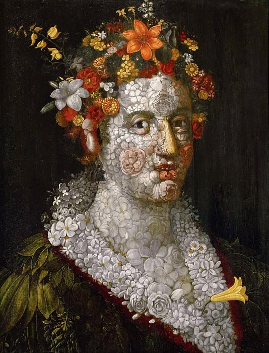Flora. Giuseppe Arcimboldo