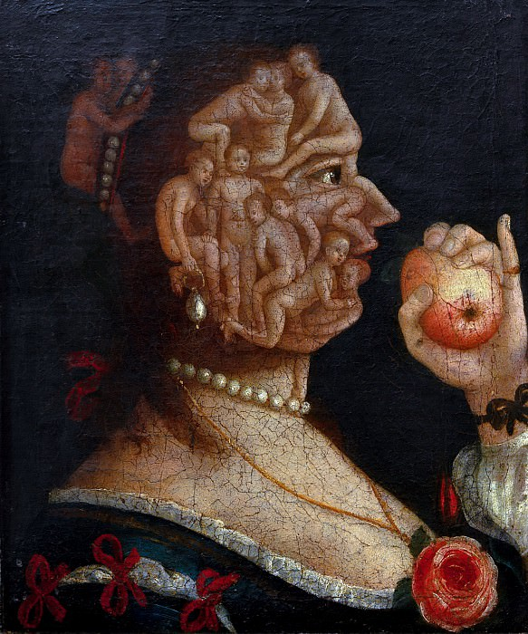 Eve (follower). Giuseppe Arcimboldo