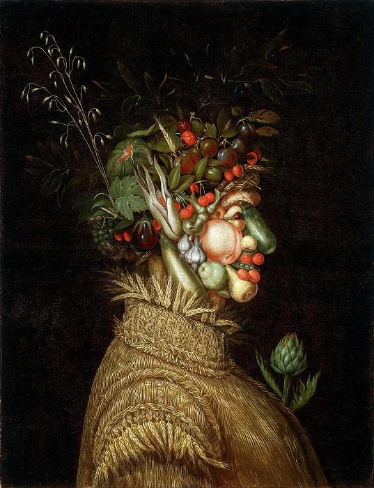 Summer (Allegorical Portrait). Giuseppe Arcimboldo