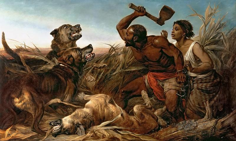 Охота на беглых рабов. Ричард Ансдел
