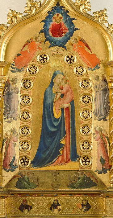 Madonna of the Star. Fra Angelico