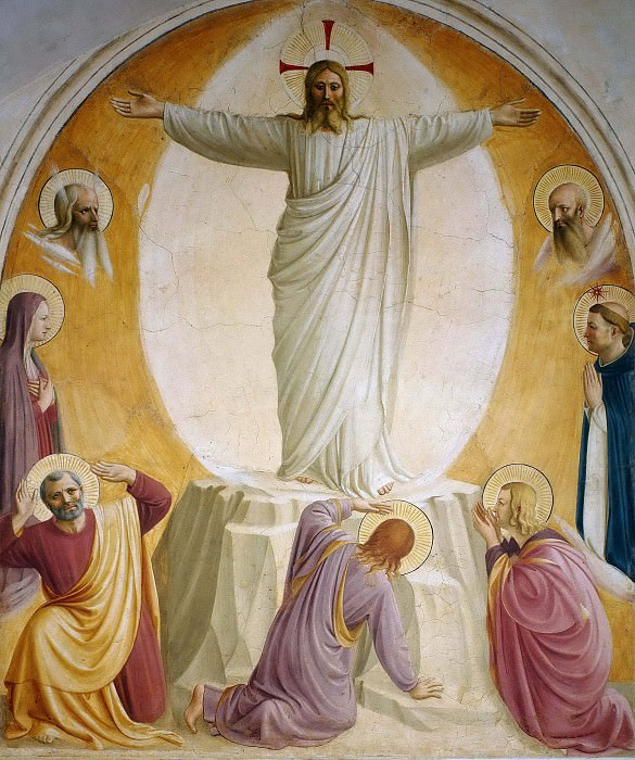 06 Transfiguration of Christ. Fra Angelico