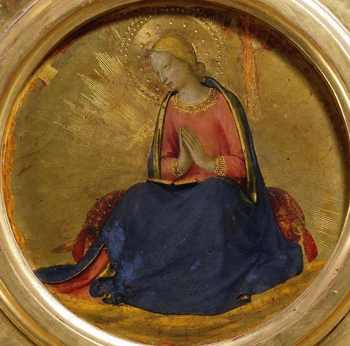 Алтарь из Перуджи - Дева Мария Благовещения. Фра Анджелико