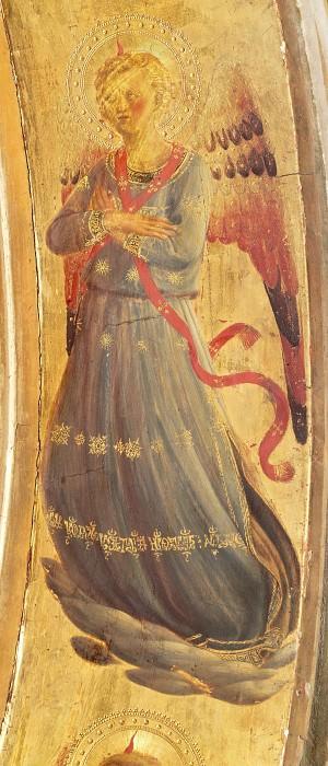 Табернакль Линайоли - Музицирующий ангел. Фра Анджелико