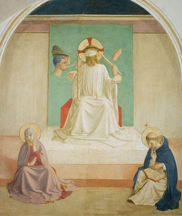 07 Осмеяние Христа. Фра Анджелико