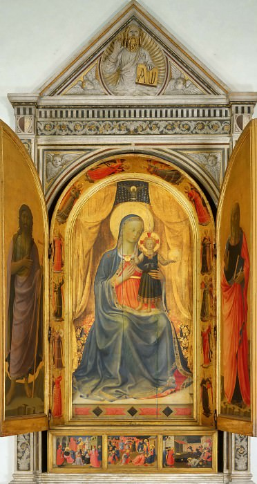 Linaioli Tabernacle. Fra Angelico