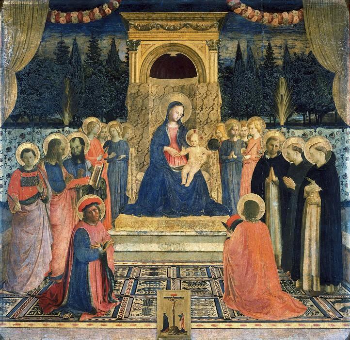Алтарь монастыря Сан Марко. Фра Анджелико