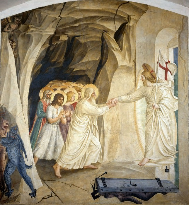 31 Christ in limbo. Fra Angelico
