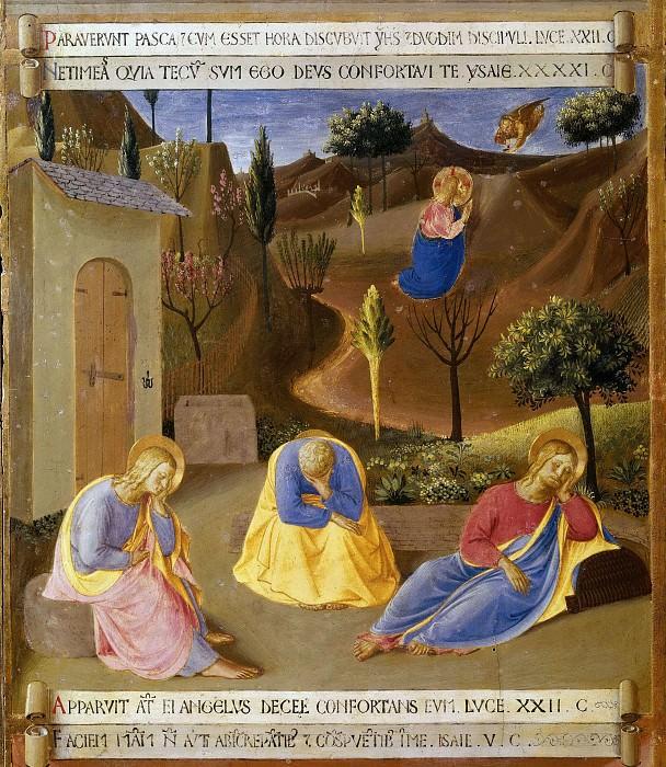 18. Prayer in the Garden. Fra Angelico