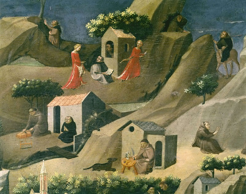 Thebaide, detail. Fra Angelico