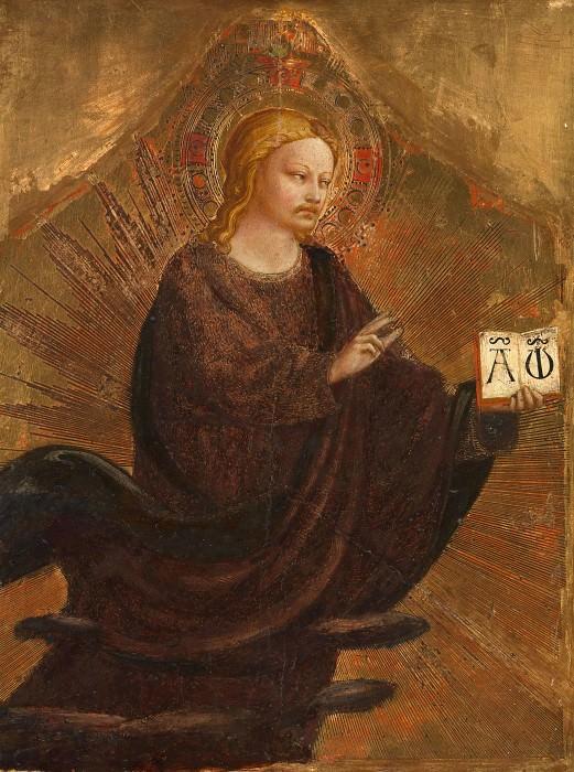 Алтарь церкви Святого Доминика - Благословляющий Спаситель. Фра Анджелико