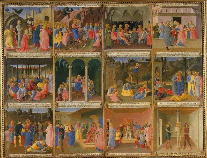 11. Сцены из жизни Христа. Фра Анджелико