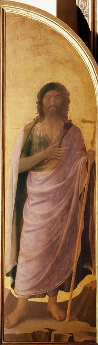 Linaioli Tabernacle, shutter - Saint John the Baptist. Fra Angelico