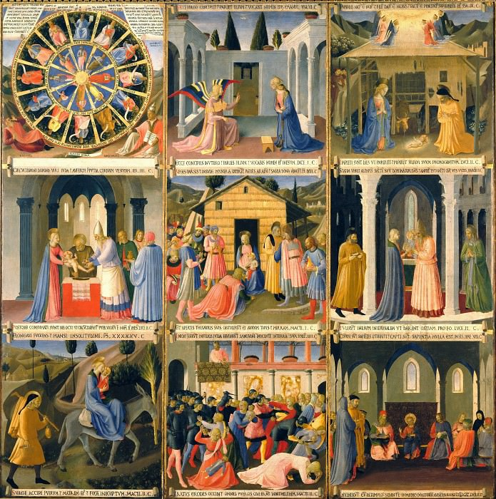 01. Scenes from the Life of Christ. Fra Angelico