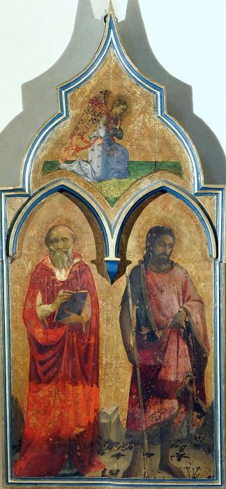 Алтарь Общества Святого Франциска - Святые Иероним и Иоанн Креститель. Фра Анджелико