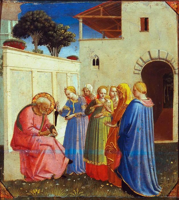 The Naming of St. John the Baptist. Fra Angelico