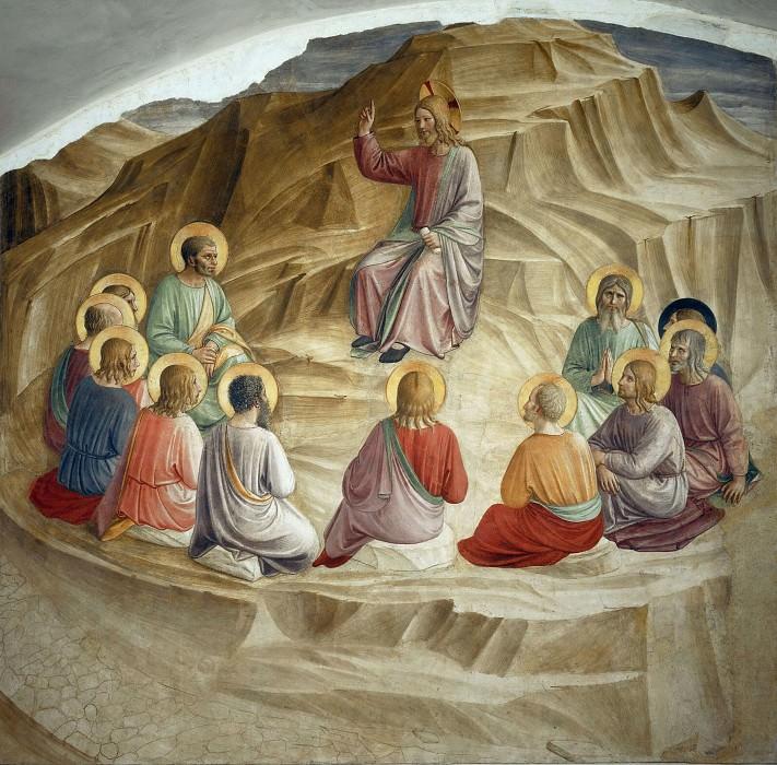32 Нагорная проповедь. Фра Анджелико