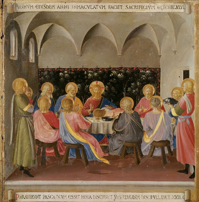 14. Last Supper. Fra Angelico
