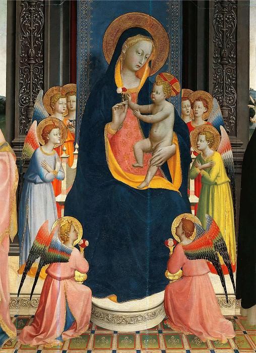 Алтарь церкви Святого Доминика, фрагмент. Фра Анджелико