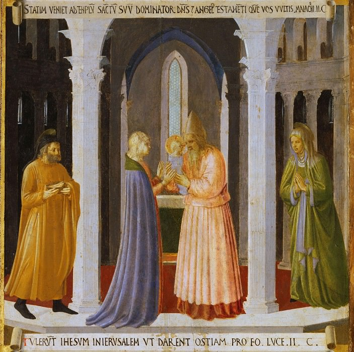 07. Presentation in the Temple. Fra Angelico