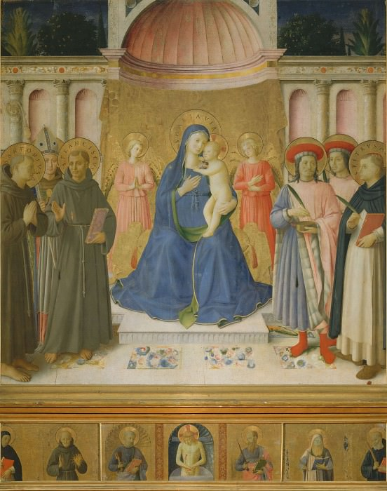 Bosco ai Frati Altarpiece. Fra Angelico