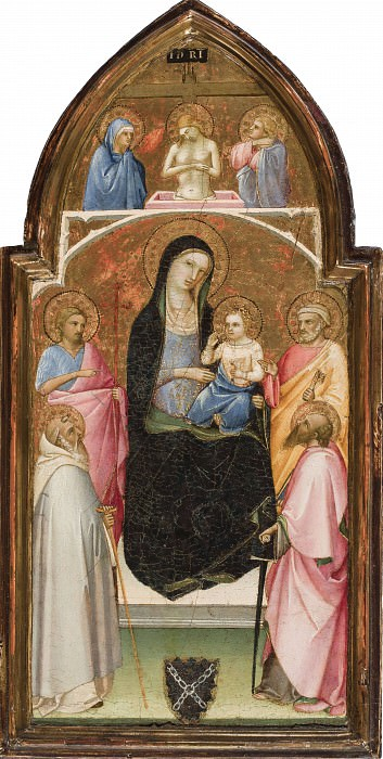 Madonna and Child with Saints. Fra Angelico