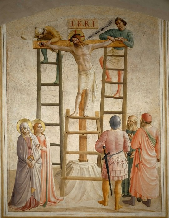 36 Crucifixion of Christ. Fra Angelico