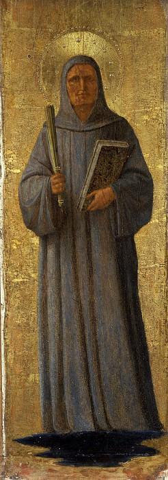 Алтарь монастыря Сан Марко - Святой Бернард. Фра Анджелико