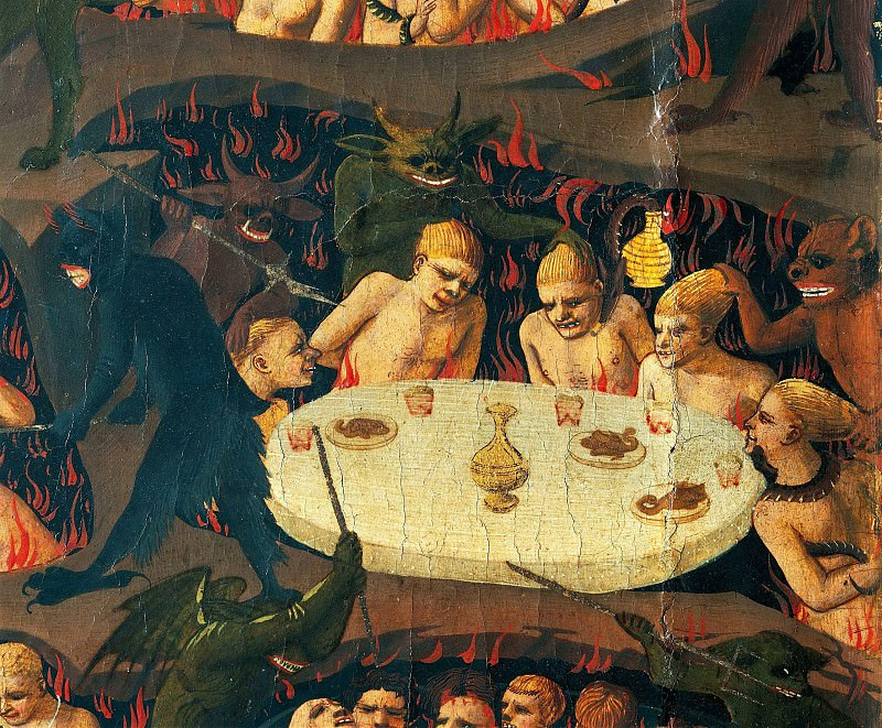 The Last Judgement, detail. Fra Angelico