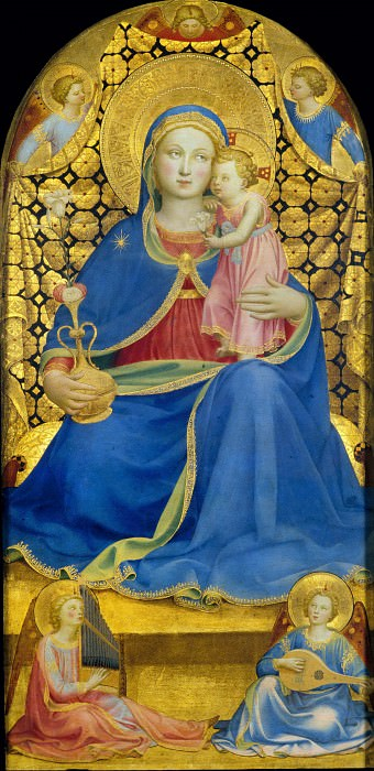 Virgin of Humility. Fra Angelico