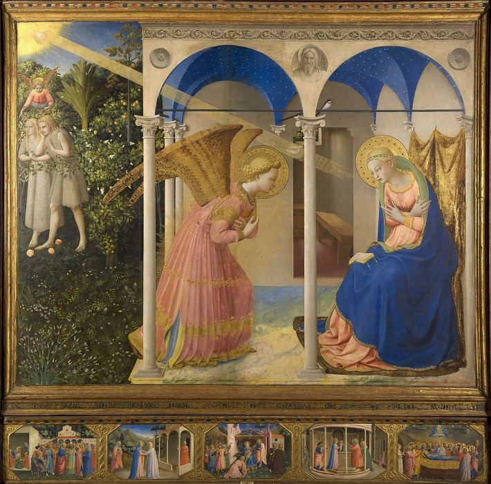 The Annunciation Altarpiece. Fra Angelico