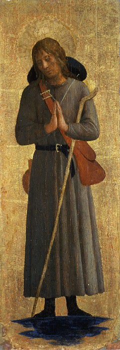 San Marco altarpiece - St Roche. Fra Angelico