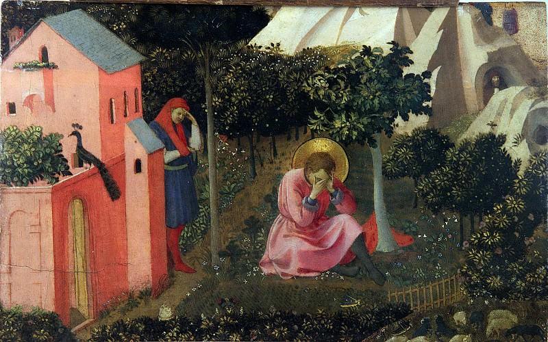 La conversion de Saint Augustin. Fra Angelico