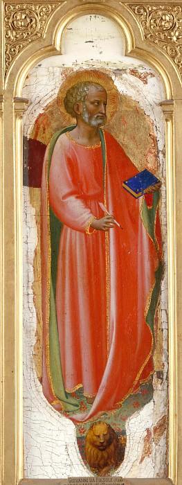 Алтарь церкви Святого Доминика - Святой Марк. Фра Анджелико