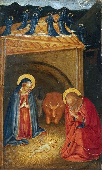 The Nativity. Fra Angelico