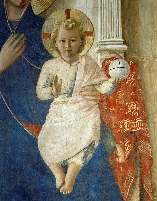 Sacra Conversazione, detail. Fra Angelico