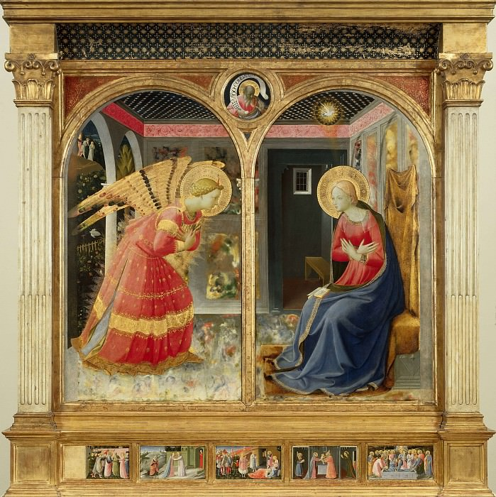 Annunciation. Fra Angelico