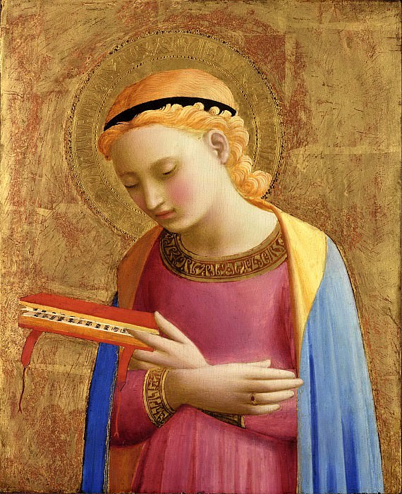 Annunciatory Virgin. Fra Angelico