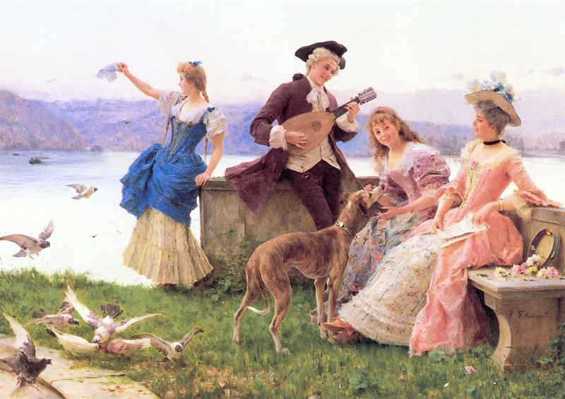 A Day-s Outing. Federico Andreotti