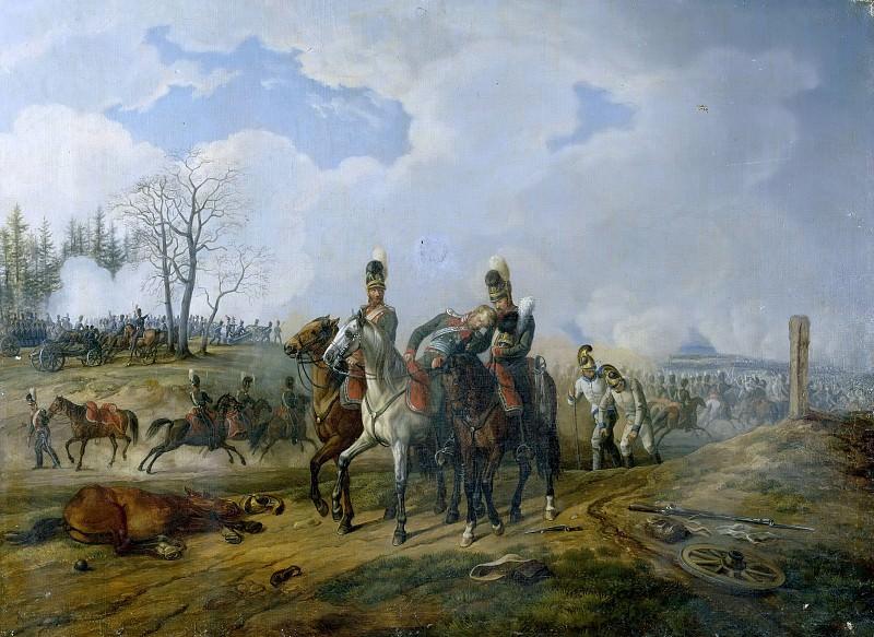 Битва при Абенсберге 20 апреля 1809 года. Альбрехт Адам