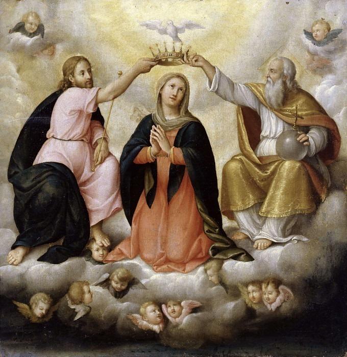 Коронация Девы Марии. Кристофоро Агоста